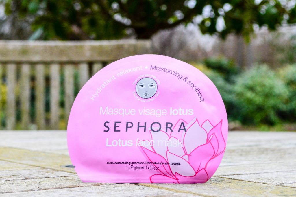 My Skincare Essentials - Sephora Sheet Mask