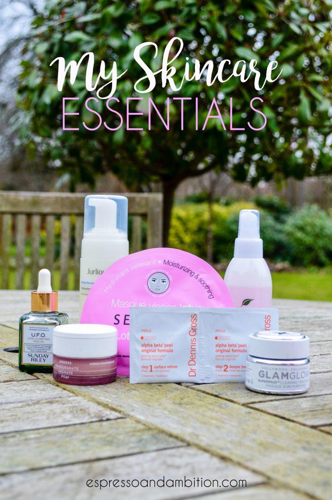 My Skincare Essentials - Espresso and Ambition