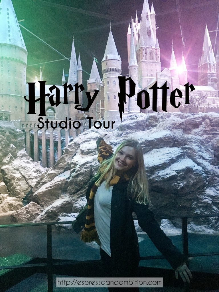 Harry Potter Studio Tour - Espresso and Ambition