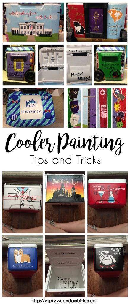 Cooler Painting Tips and Tricks - Espresso and Ambition