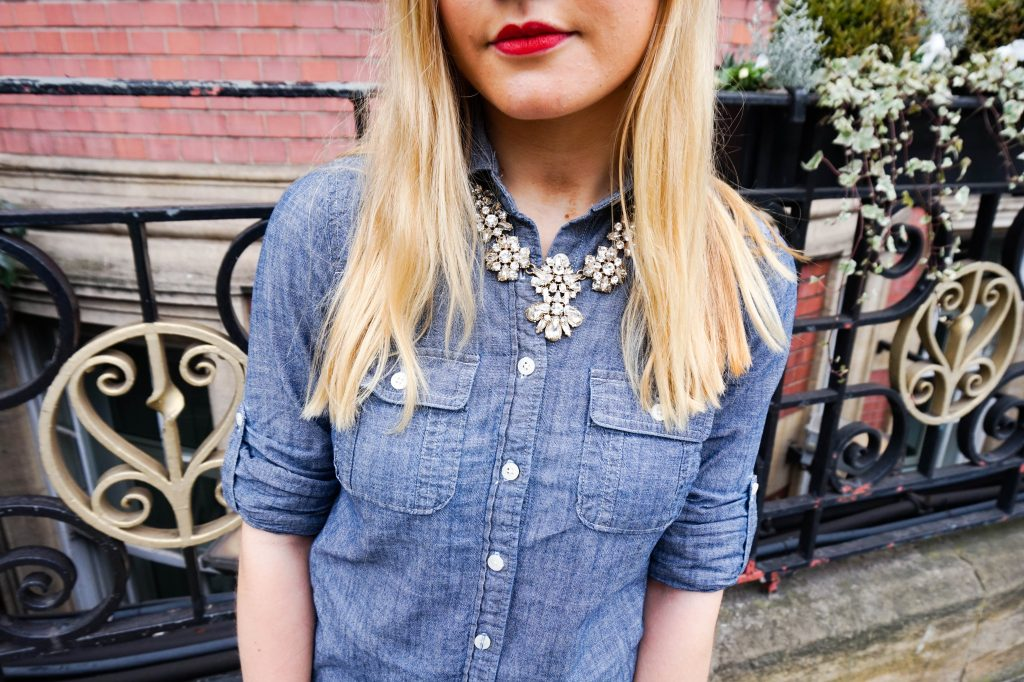 Chambray and Details - Espresso and Ambition