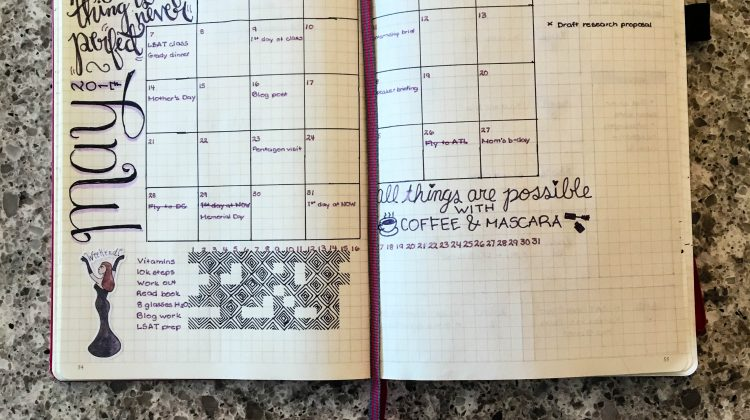 Bullet Journal Update