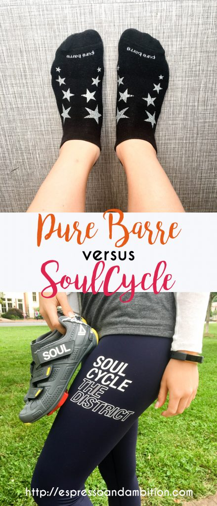 Pure Barre vs SoulCycle - Espresso and Ambition