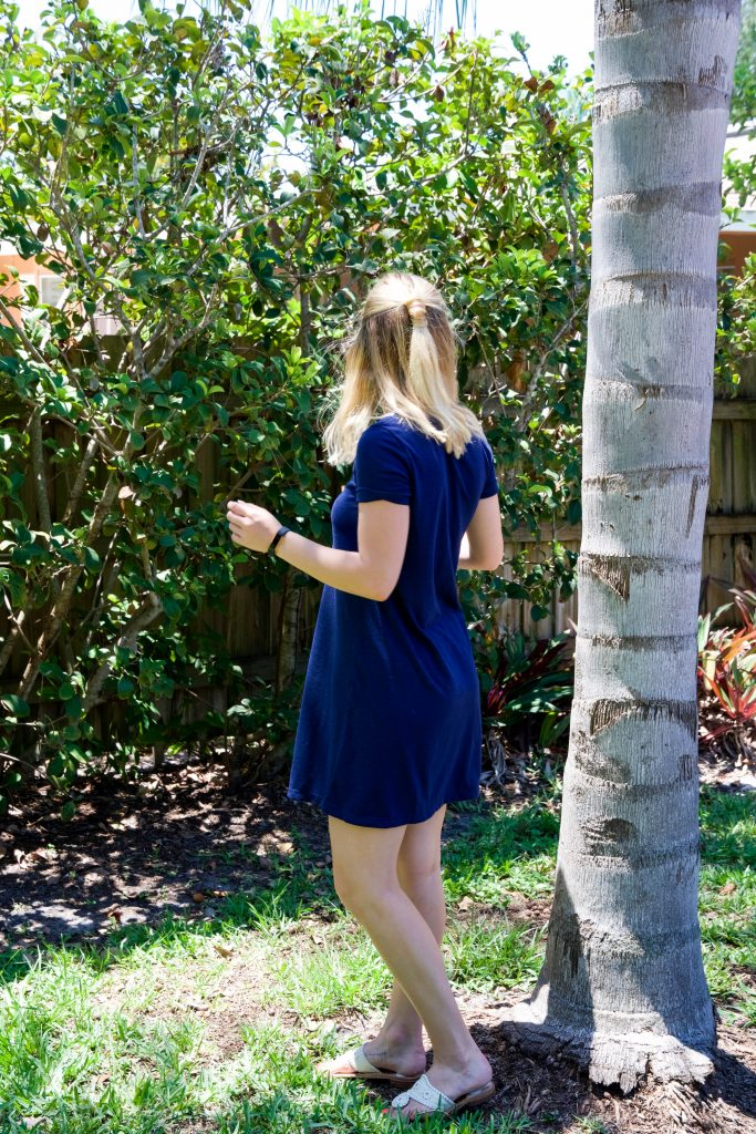 Lilly Pulitzer T-Shirt Dress - Espresso and Ambition