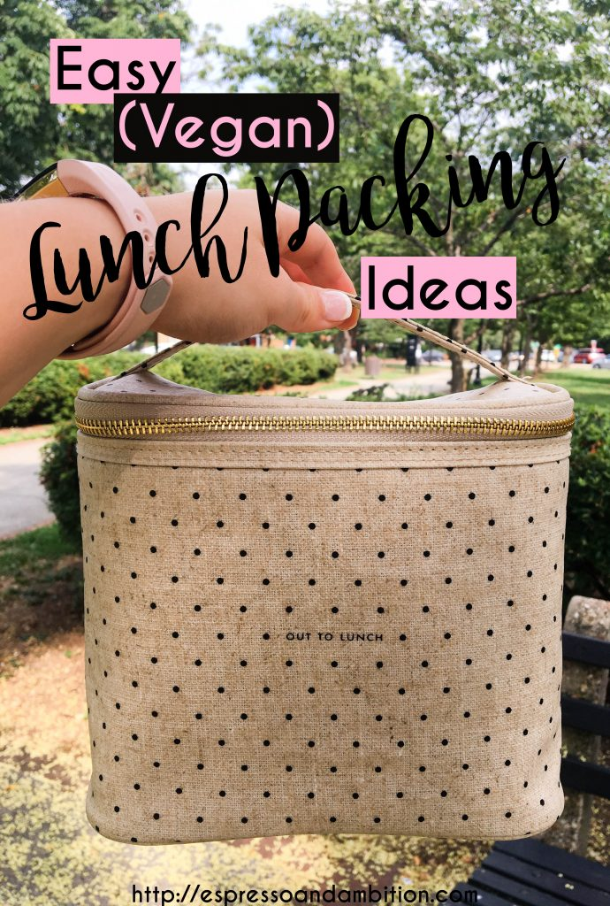 Easy Vegan Lunch Packing Ideas - Espresso and Ambition
