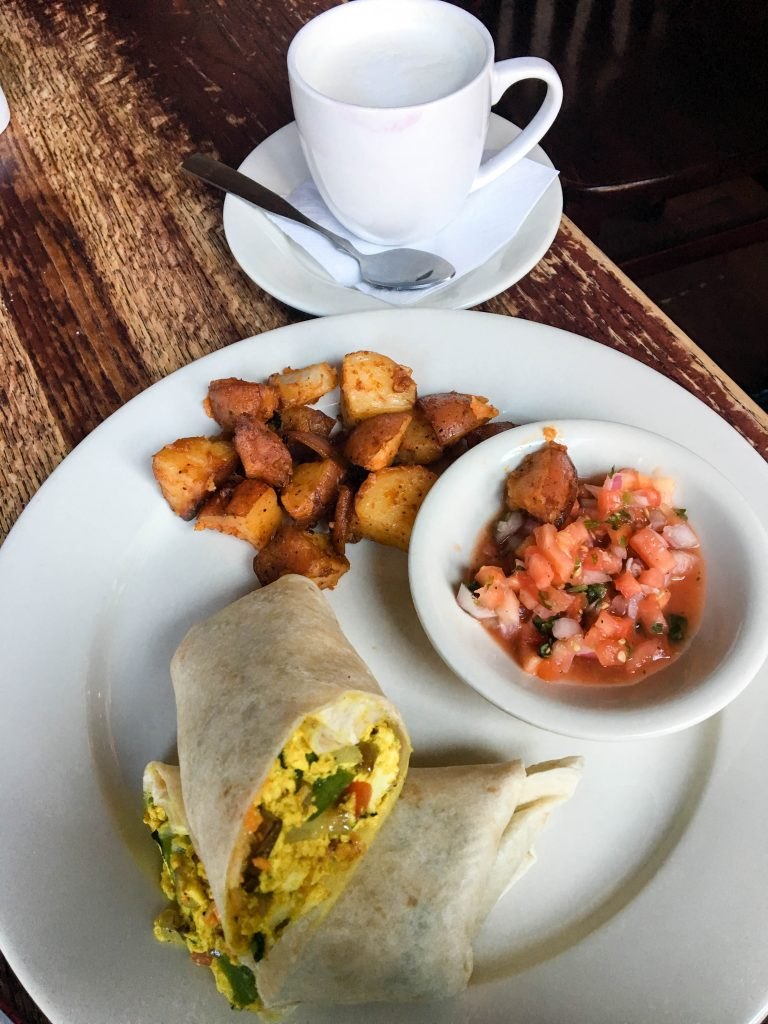 Vegan Restaurants in DC: Busboys and Poets - Espresso and Ambition