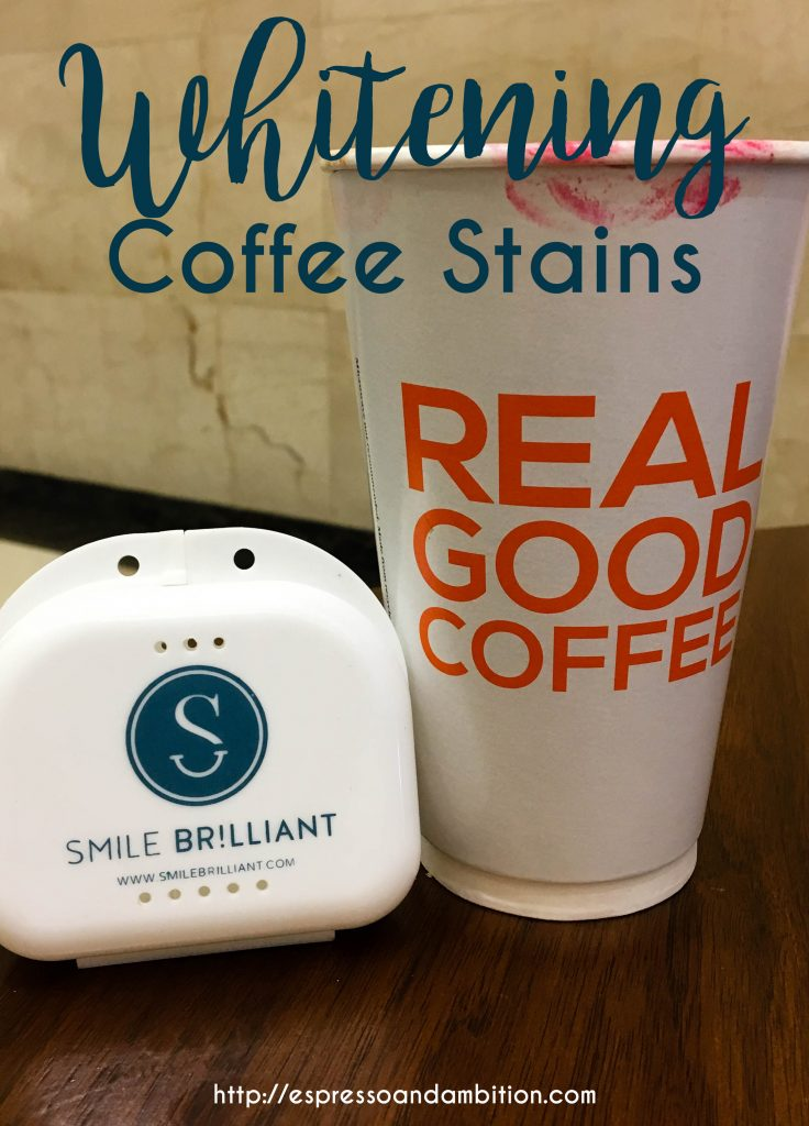 Whitening Coffee Stains - Espresso and Ambition