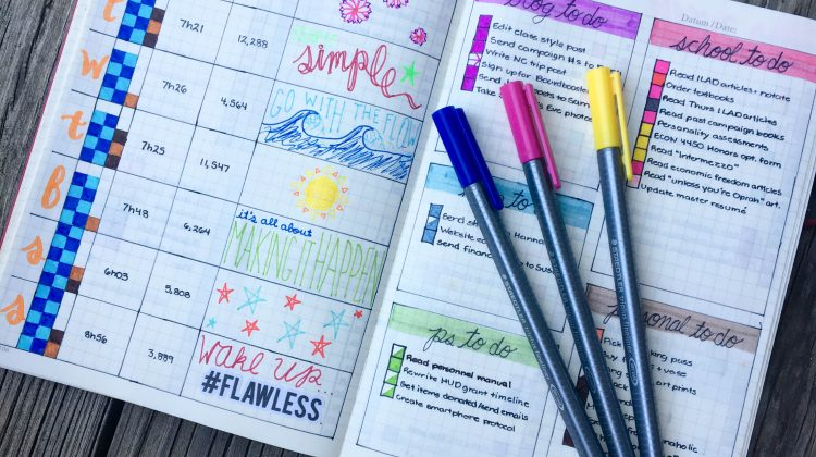 Bullet Journal Update #2