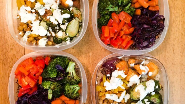 A Week of Vegetarian Meal Prep