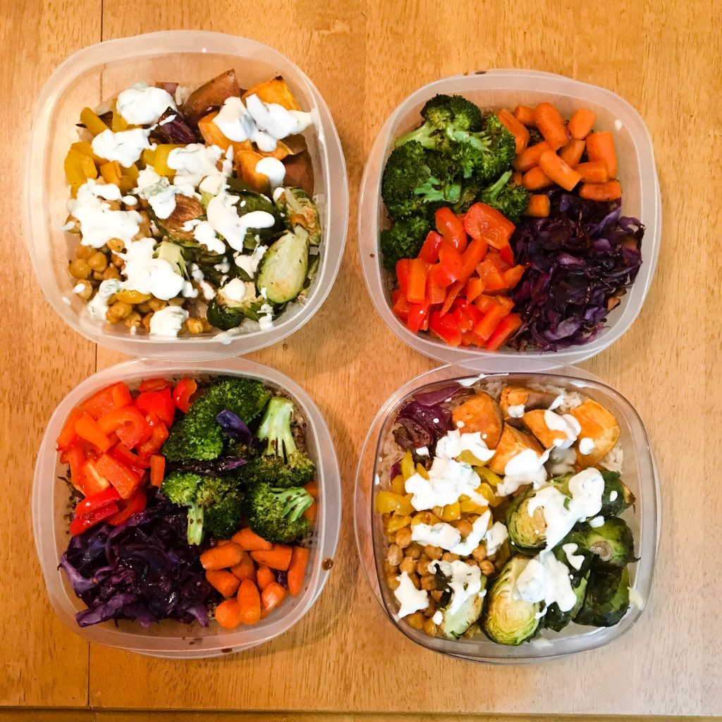 A Week of Vegetarian Meal Prep - Espresso and Ambition