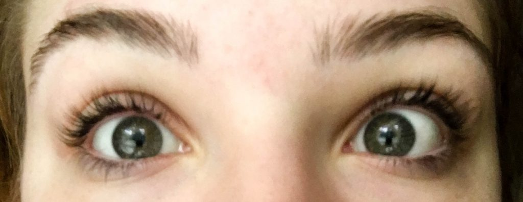 My Lash Lift Experience - Espresso and Ambition