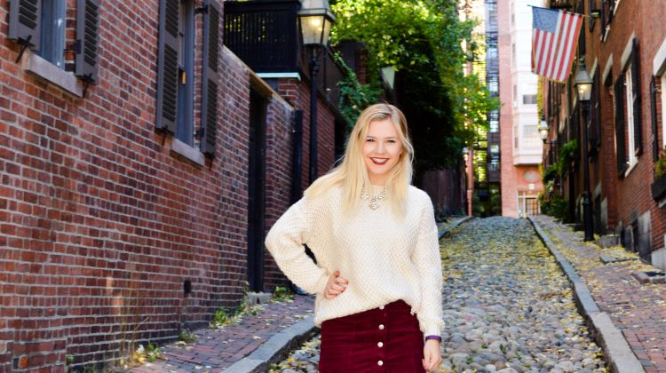 Skirts and Sweaters on Acorn Street