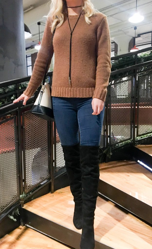 Styling Over-the-Knee Boots for Everyday Wear - Espresso and Ambition