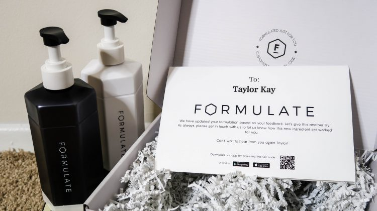 Review: Formulate Custom Shampoo + Conditioner (and a Giveaway!)