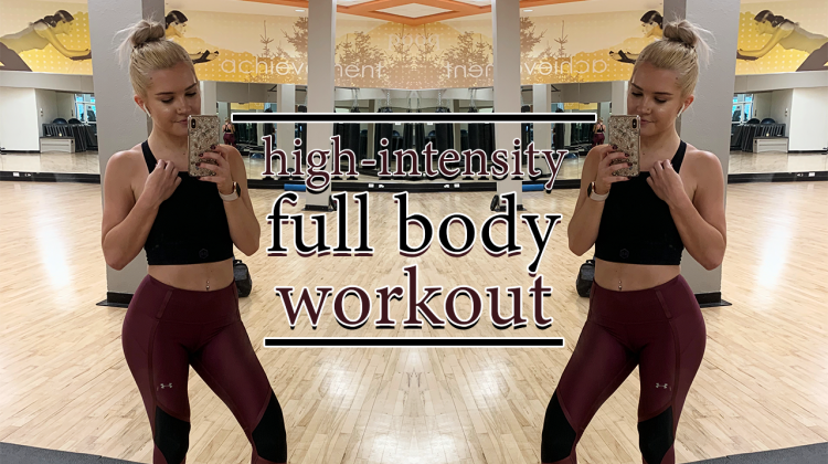 high-intensity full body workout