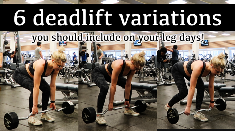 6 deadlift variations + what they're good for!