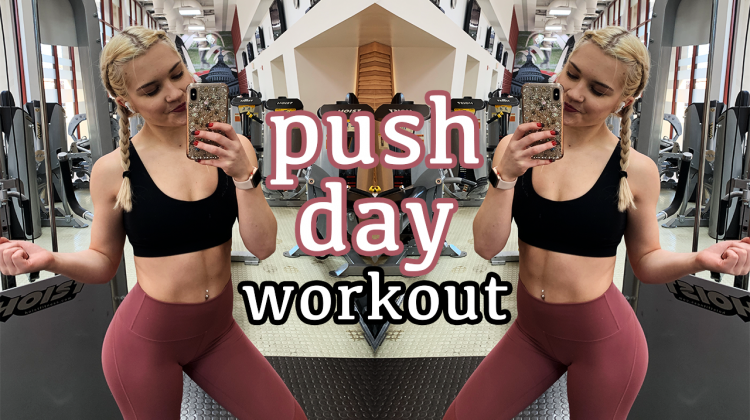 push day workout | target your chest, shoulders, and triceps!