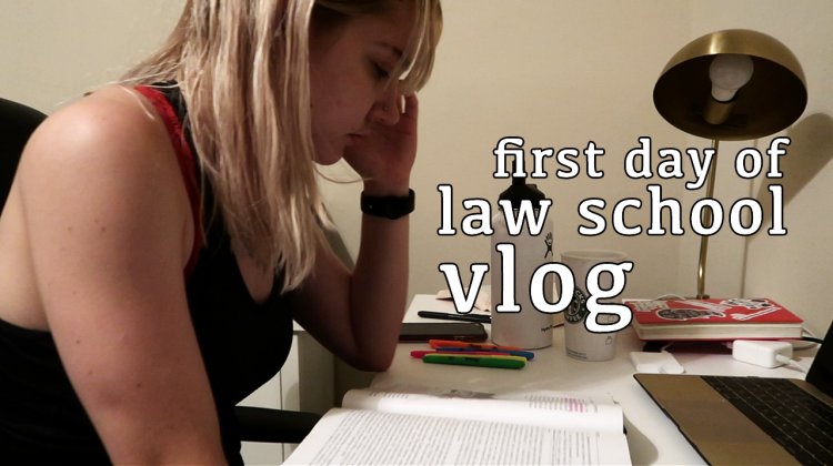 first day of law school vlog