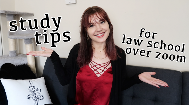 productivity + study tips for law school (at zoom university!)