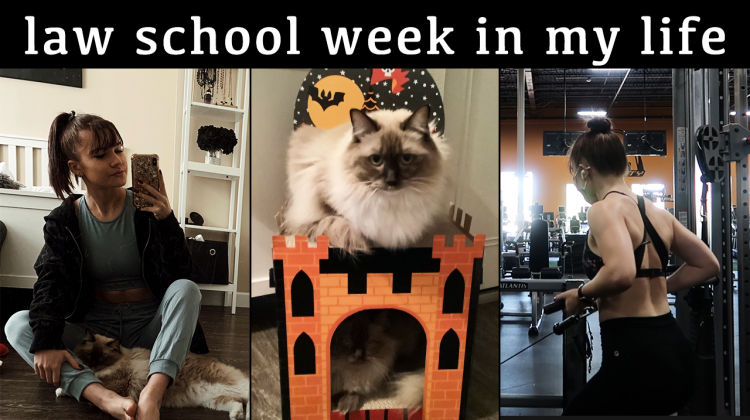 law school week in my life | extracurriculars + assignments