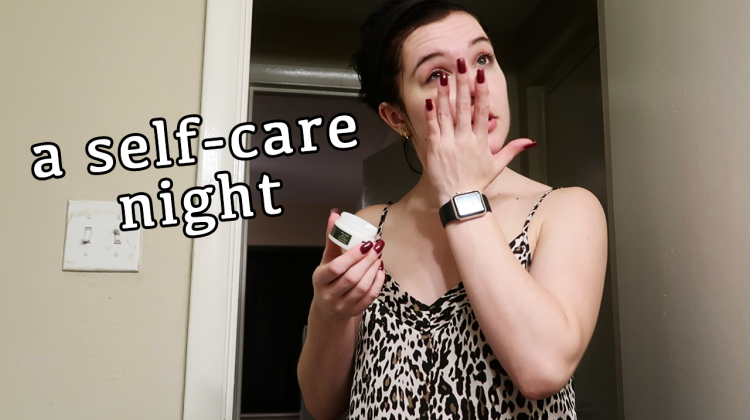 a weekday self-care moment
