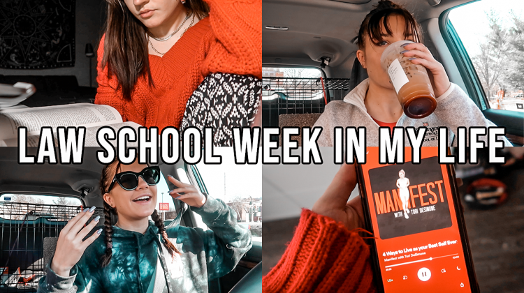 law school week in my life, 1L spring: a really dang good (+ super productive) week