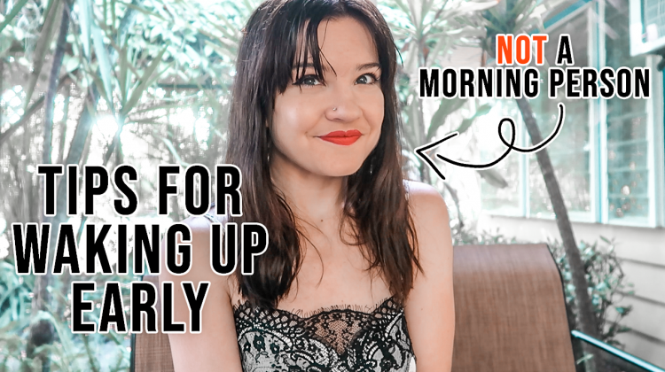 waking up early when you're not a morning person | *my tips*